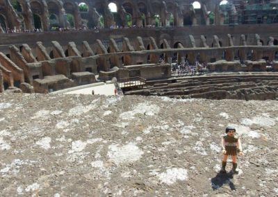 Jefe at the Roman Colluseum