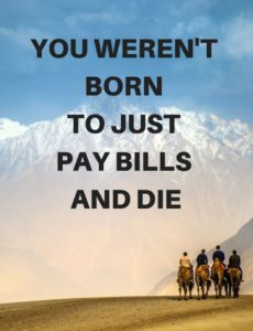 Don't Pay Bills and Die