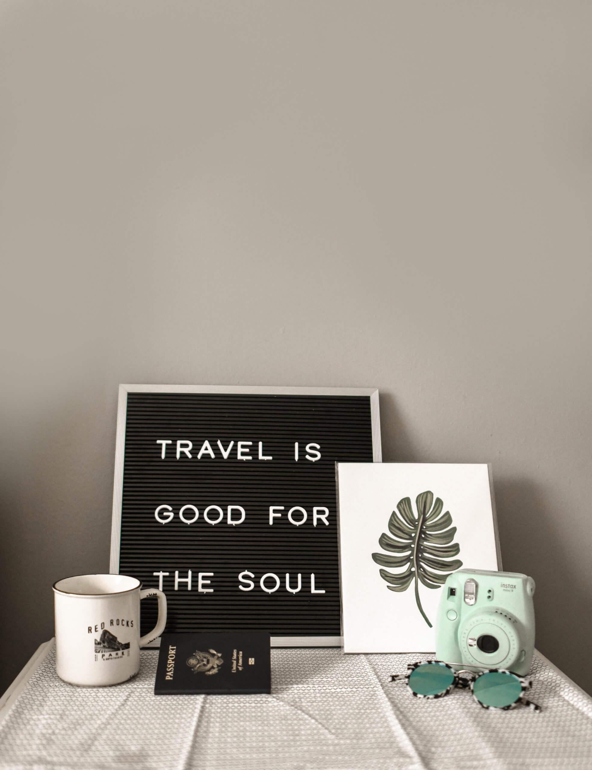 Travel is soul food